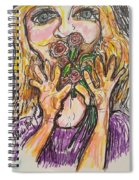 Smell The Roses Spiral Notebook