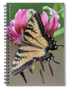 Smelling The Asiatic Lilies Spiral Notebook