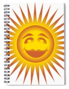 Smiling Sundial Spiral Notebook