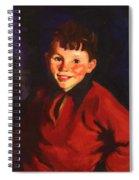 Smiling Tom Thomas Cafferty 1924 Spiral Notebook