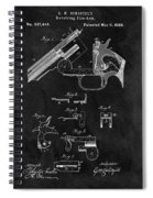 Smith And Wesson Model 3 Patent Spiral Notebook