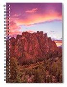 Smith Rock Sunset Spiral Notebook