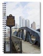 Smithfield Street Bridge Spiral Notebook