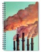 Smog Industrial II Spiral Notebook