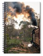 Smoke And Fire Spiral Notebook