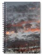 Smoke Like Clouds Spiral Notebook