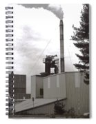 Smoke Stack Spiral Notebook