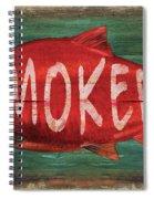 Smoked Fish Spiral Notebook
