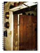 Smokehouse At The Old Farm Spiral Notebook