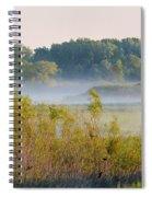 Smokey Marshland Spiral Notebook