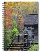Smokey Mountain Grist Mill Spiral Notebook