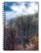 Smokey Mountain Ridge Spiral Notebook