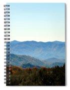 Smokey Mountains Spiral Notebook
