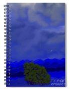 Smokey Mountains Landscape Spiral Notebook
