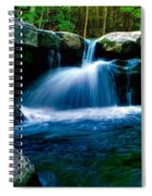 Smokey Mountains Mountain Stream 4 Spiral Notebook
