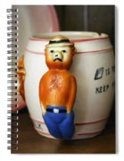 Smokey The Bear Spiral Notebook