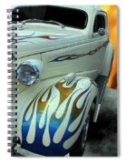 Smokin' Hot - 1938 Chevy Coupe Spiral Notebook