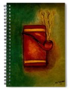 Smoking Pipe Spiral Notebook