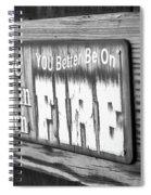 Smok'n Spiral Notebook