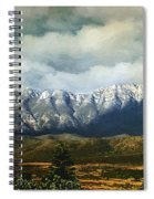 Smoky Clouds On A Thursday Spiral Notebook