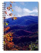 Smoky Mountain Autumn View Spiral Notebook