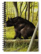 Smoky Mountain Bear Spiral Notebook