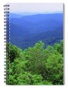 Smoky Mountain National Park Spiral Notebook