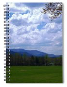 Smoky Mountain Range Spiral Notebook