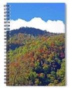Smoky Mountain Scenery 6 Spiral Notebook