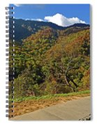 Smoky Mountain Scenery 8 Spiral Notebook