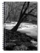 Smoky Mountain Stream Spiral Notebook