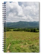 Smoky Mountains Cades Cove 1 Spiral Notebook