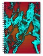 Smoky Shadows Spiral Notebook