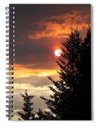 Smoky Sun Spiral Notebook