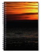 Smoky Sunrise Spiral Notebook