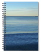 Smooth Blue Water On The Lynn Waterfront Spiral Notebook