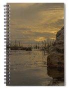 Smooth Boulder  Spiral Notebook