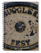 Smugglers Rest Or Rust? Spiral Notebook