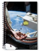 Snacking In Space Spiral Notebook