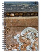 Snails At Home With Lichen Spiral Notebook