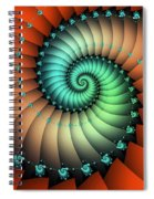 Snails On The Way Spiral Notebook