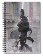 Snake Fountain Spiral Notebook