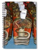 Snake In A Bottle Spiral Notebook