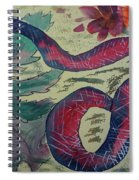 Snake In The Garden Spiral Notebook