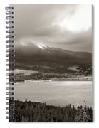 Snake Pass Colorado Spiral Notebook