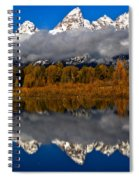 Snake River Fall Reflections Spiral Notebook