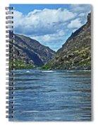 Snake River Hells Canyon Spiral Notebook
