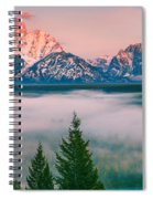 Snake River Overlook - Grand Teton National Park Spiral Notebook