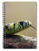 Snake Tongue Spiral Notebook