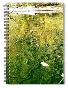 Snaky Reflection Spiral Notebook